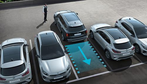Kia Sorento - Romote Smart Parking Assist