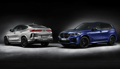 BMW X5 M Competition First Edition - BMW X6 M Competition First Edition