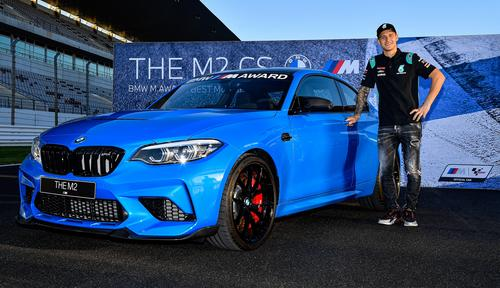 BMW M2 CS - BMW M Award - Fabio Quartararo
