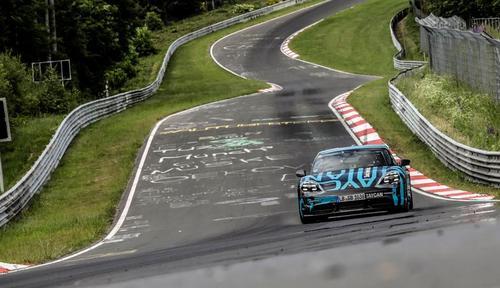 Porsche Taycan - Nurburgring