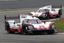 Porsche 919 Hybrid in the race