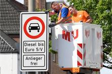 Diesel cars banning from German cities