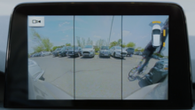 Ford Focus Rear Wide View Camera