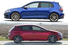 VW Golf R - Seat Leon Cupra