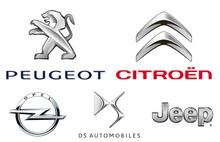 Peugeot - Citroen - Opel - DS - Jeep