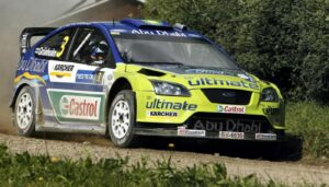 Rally Finland Marcus Gronholm