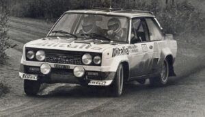 Rally Finland Markku Alen