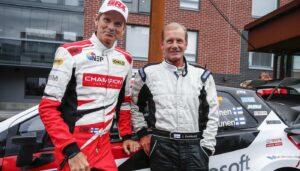 Rally Finland Marcus Gronholm-Juha Kankkunen