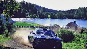 Rally Finland Juha Kankkunen