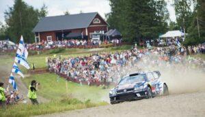 Rally Finland Jari Matti Latvala