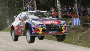 Rally Finland Sebastien Loeb