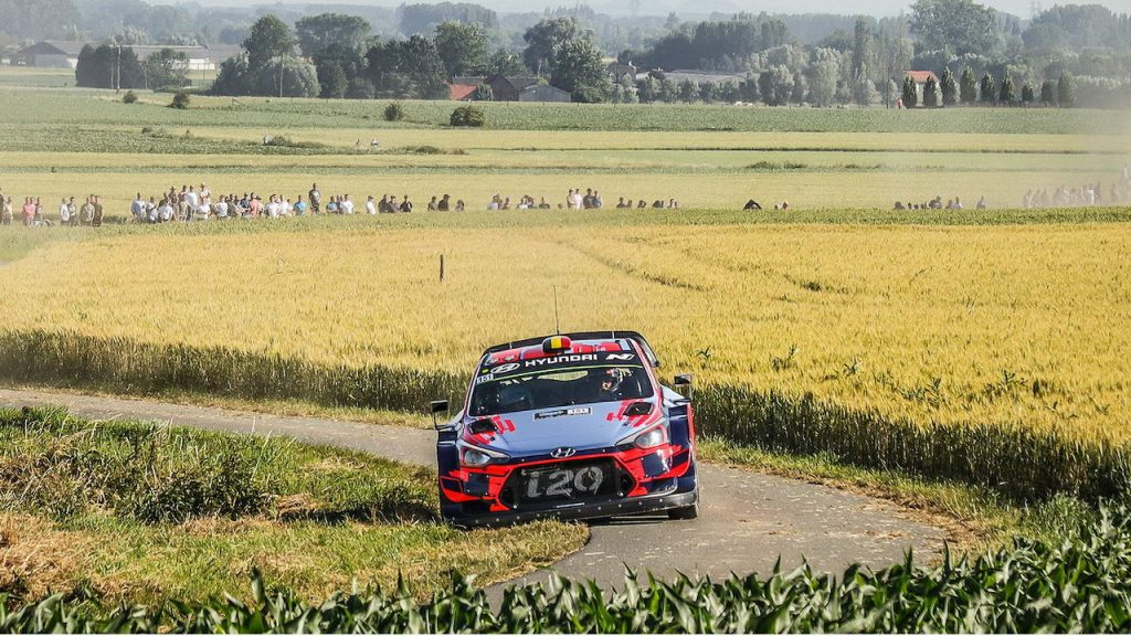Ypres Rally Entries