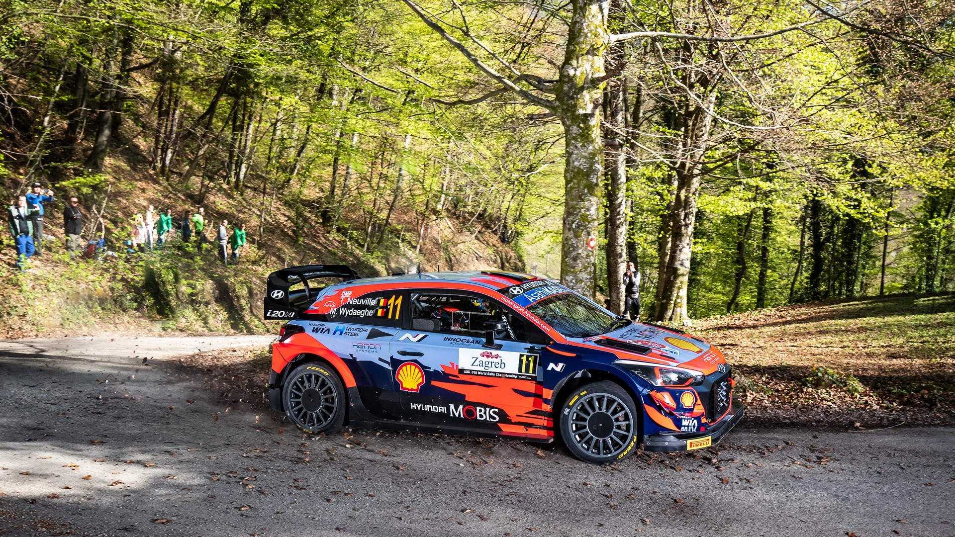 Rally Croatia Day 2 - Thierry Neuville