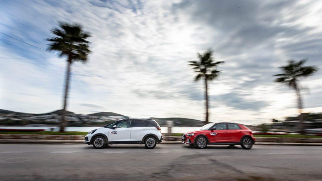 Honda Jazz e:HEV Crosstar vs Audi A1 Citycarver