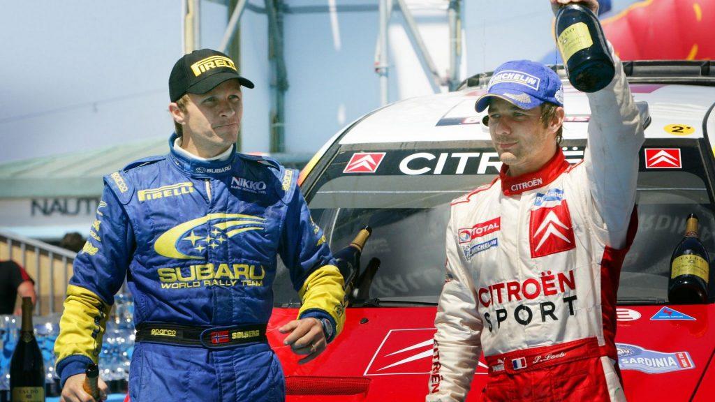 Sebastien Loeb, Petter Solberg