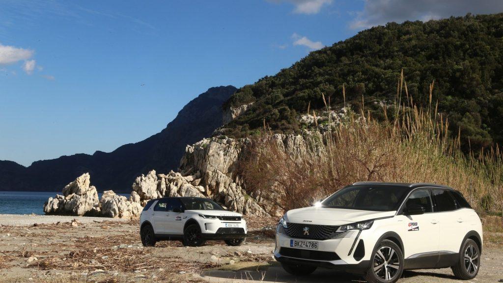 Land Rover Discovery Sport P300e - Peugeot 3008 Hybrid 300 e-EAT