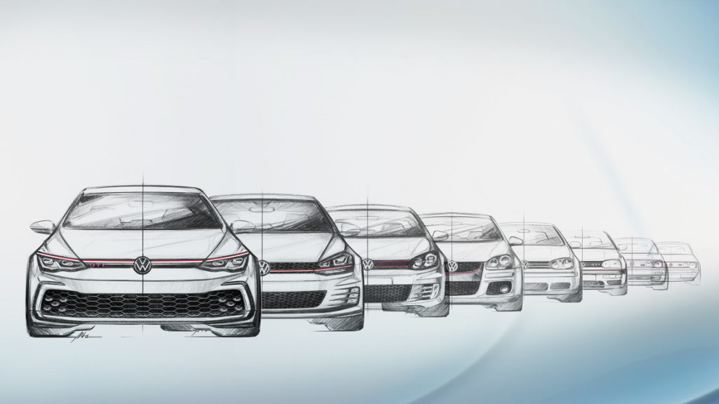 Golf GTI eight generations
