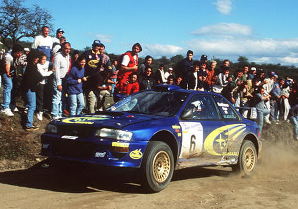 WRC Closest 1-2 - Argentina 1999
