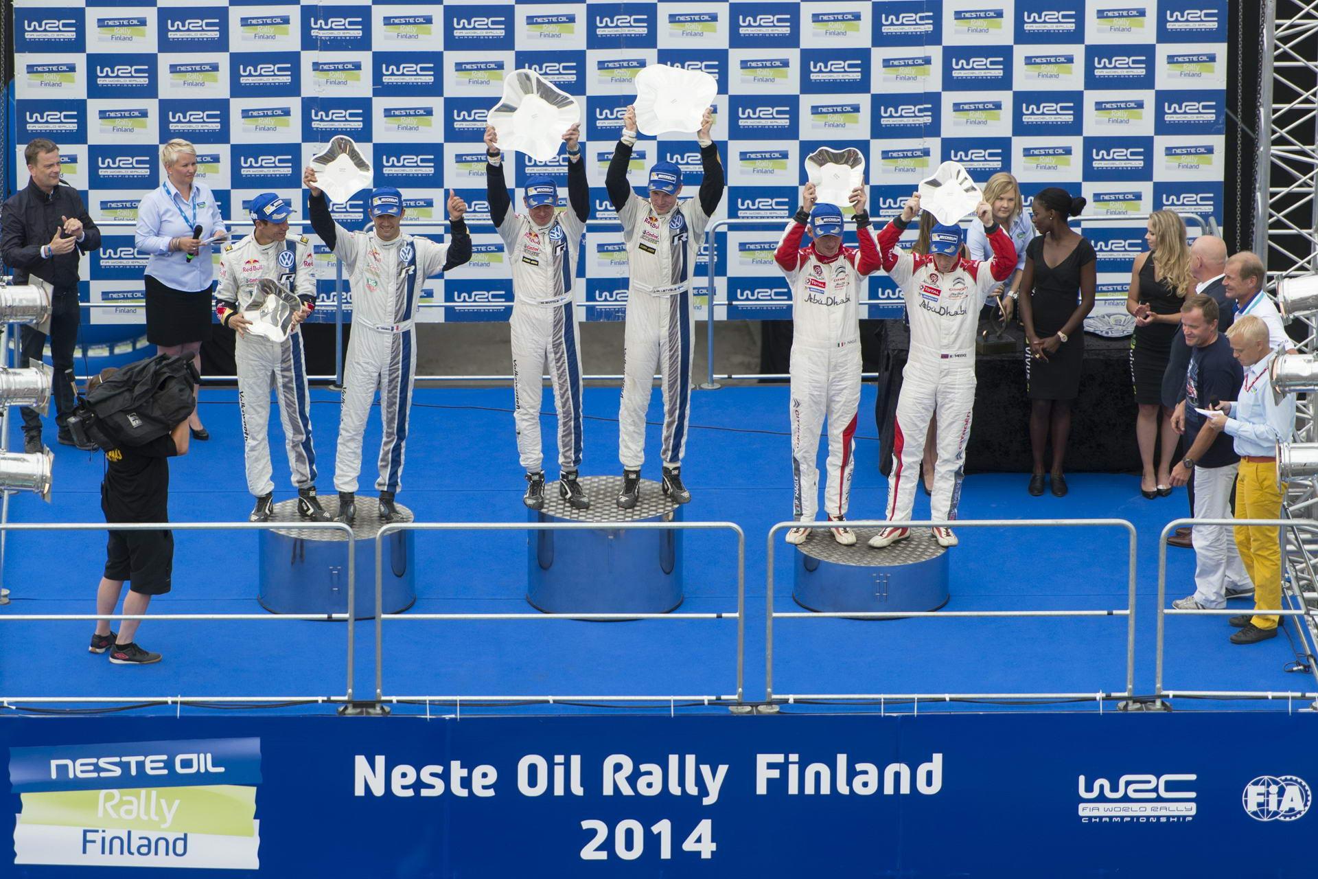 WRC Closest 1-2 - Finland 2014