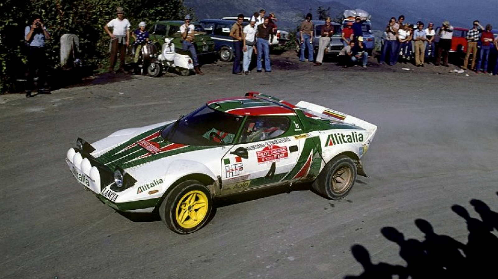 WRC Closest 1-2 - San Remo 1976