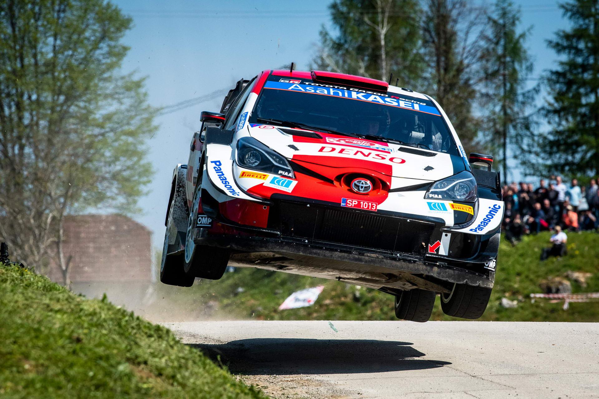 WRC - Closest Asphalt Finish - Croatia 2021
