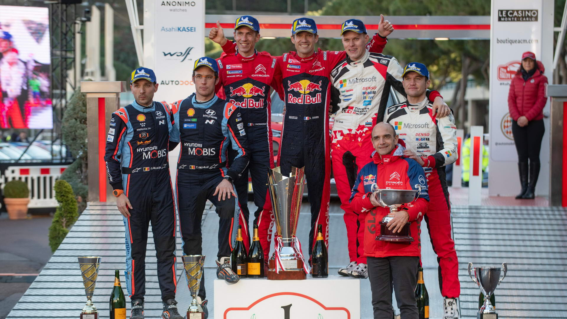 WRC - Closest Asphalt Finish - Monte Carlo 2019