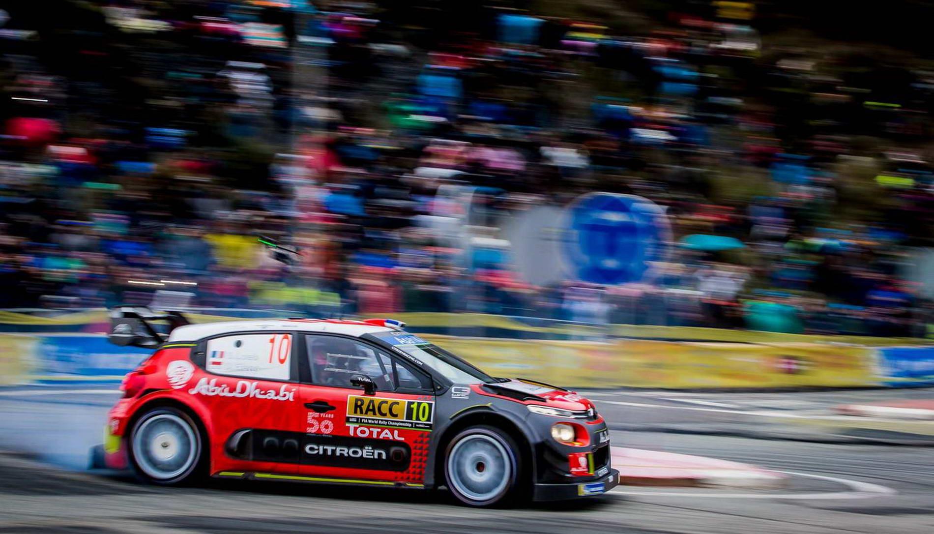 WRC - Closest Asphalt Finish - Catalunya 2018