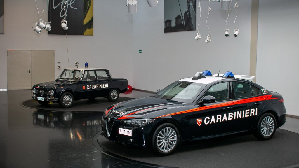 Alfa Romeo Giulia -Carabinieri
