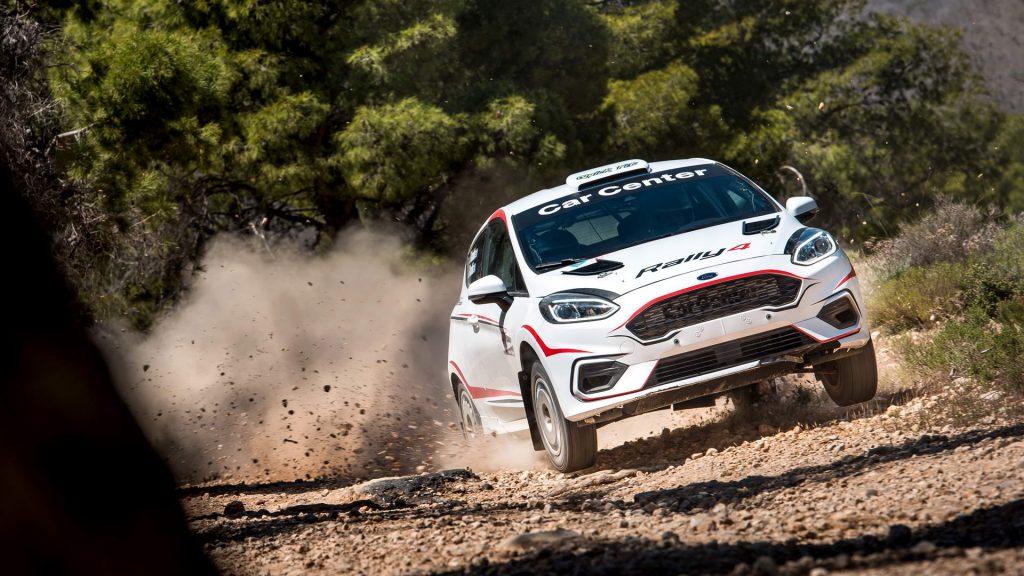 Nondas Karanikolas - Ford Fiesta Rally4