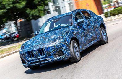 Αναβάλλεται η πρεμιέρα της Maserati Grecale