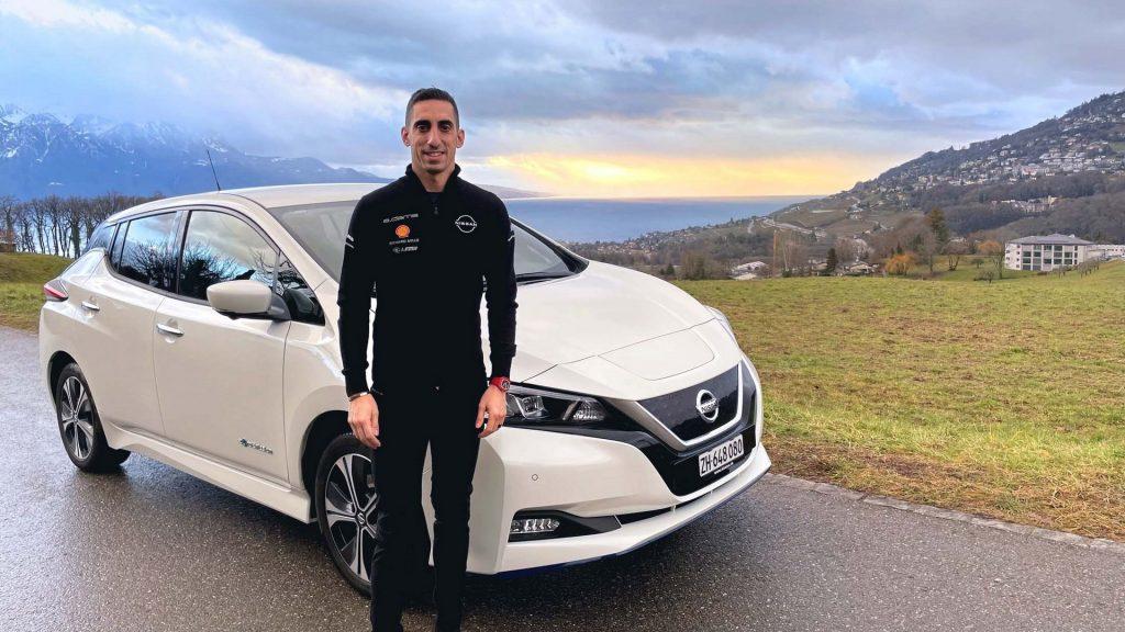 Nissan Leaf - Sebastien Buemi