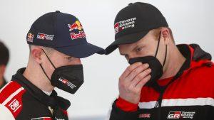 Elfyn Evans, Jari Matti Latvala - Toyota