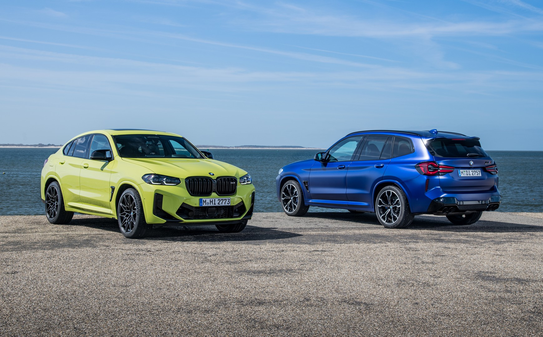 BMW X3 M Competition - BMW X4 M Competition