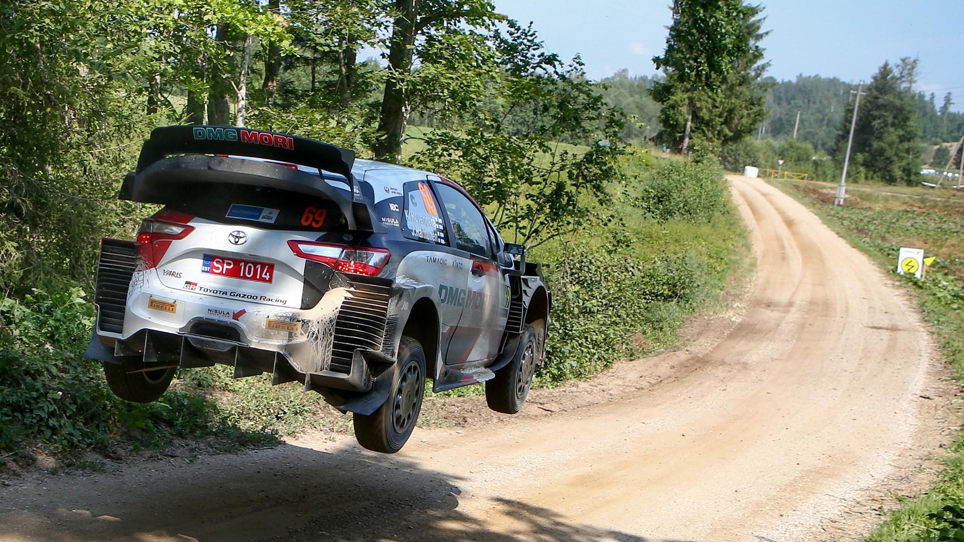 Rally Estonia Debrief Toyota
