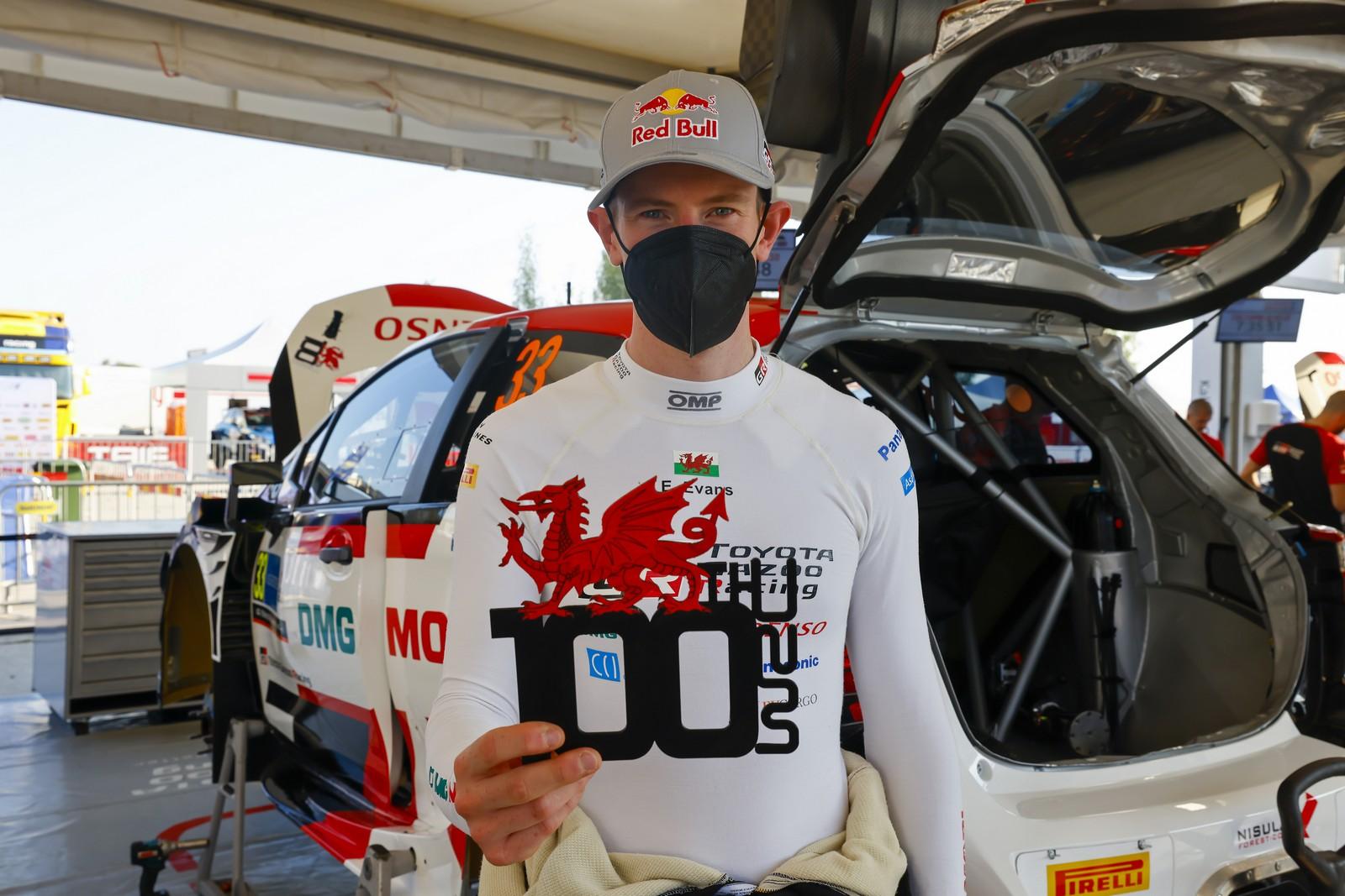 Rally Estonia Debrief Evans 100