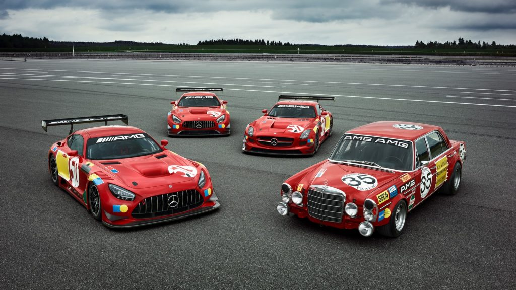 Mercedes-AMG 50 Years Legend of Spa