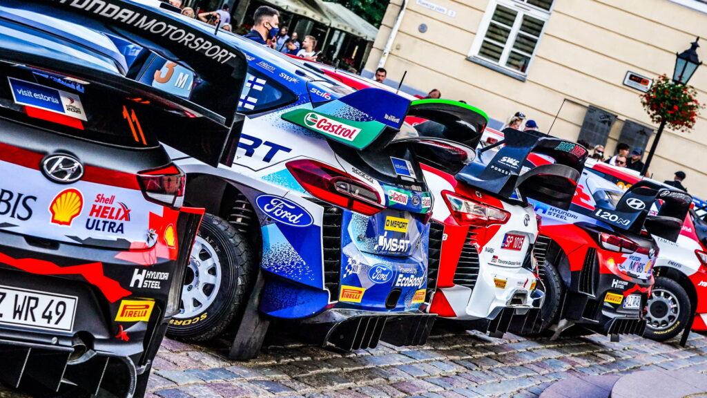 ΕΚΟ Ράλλυ Ακρόπολις WRC Entries