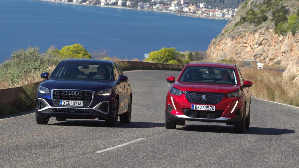 Audi-Q2-35-TFSI-S-Tronic-vs-Peugeot-2008-1.2-130-EAT8-
