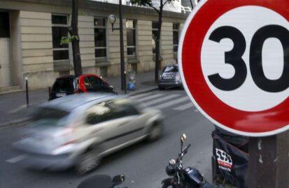 Παρίσι: Σε ισχύ το όριο ταχύτητας των 30 χλμ./ώρα