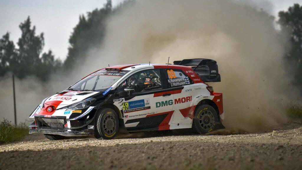 WRC Kalle Rovanpera-Jonne Halttunen