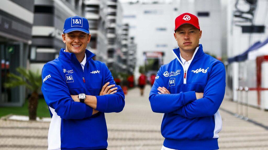Haas drivers