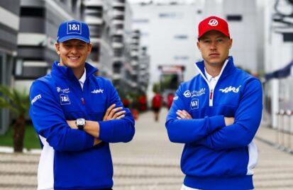 Με το ίδιο δίδυμο η Haas το 2022