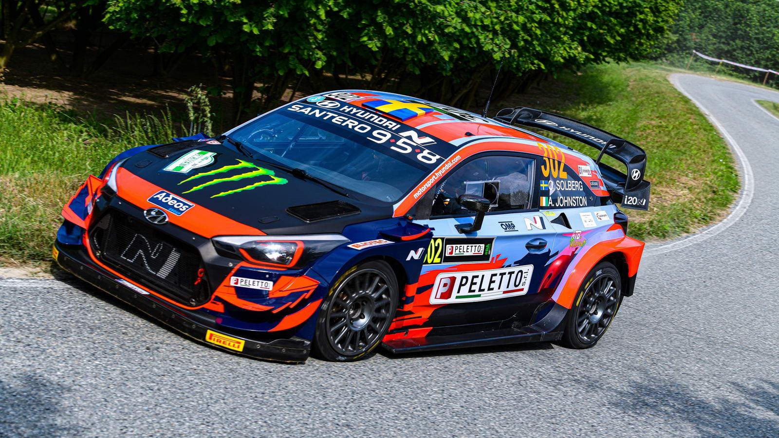 Oliver Solberg Hyundai i20 Coupe WRC