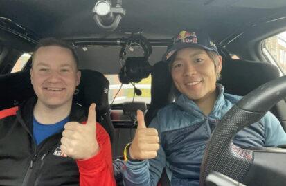 Νέος συνοδηγός του Takamoto Katsuta ο Aaron Johnston