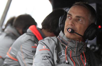 Ο Martin Whitmarsh στην Aston Martin
