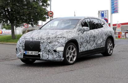 Δοκιμές εξέλιξης για την ηλεκτρική Mercedes EQS SUV