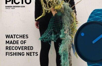 H PICTO Watches παρουσιάζει τα νέα ρολόγια Ocean Ghost Νet από ανακυκλωμένα υλικά