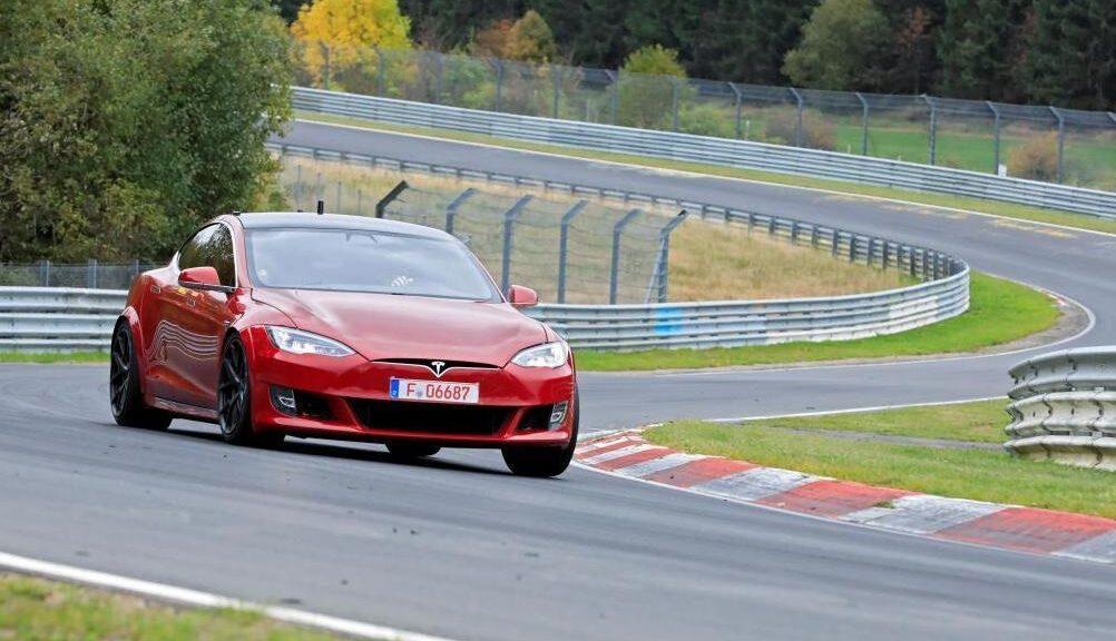 Tesla Model S Plaid - Nurburgring Record
