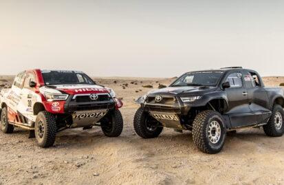 Η σύνθεση της Toyota στο Dakar 2022