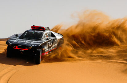 Audi RS Q e-tron: δοκιμές στο Μαρόκο για το Rally Dakar